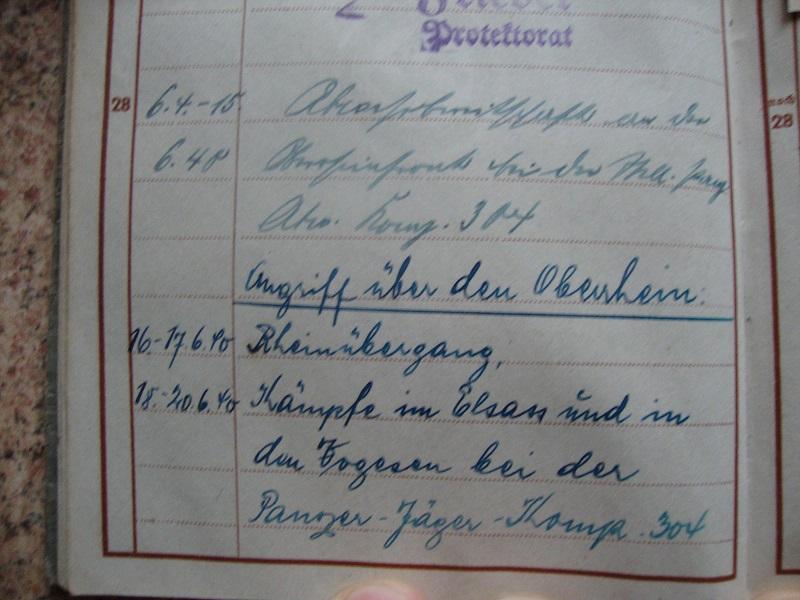 Traduction et identification d 'un Wehrpass et ses papiers 7eqm