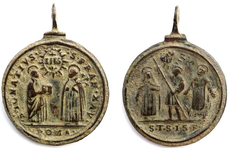 San Ignacio de loyola, S. Francisco Javier / S. Isidro, S. Teresa, S. Felipe Neri, S. XVII Tfq7