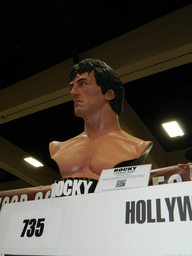 Rocky Life Size Bust Hollywood Collectible Group 54fe