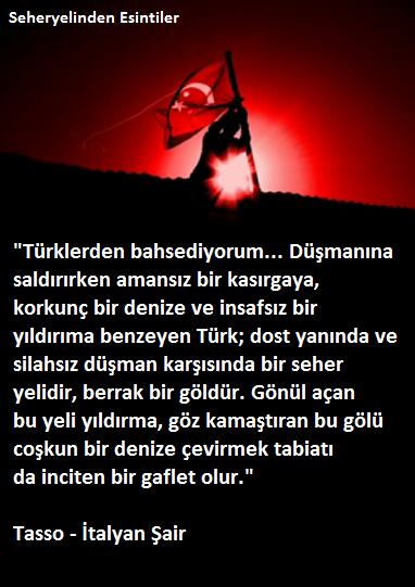 Türklerden bahsediyorum / Tasso Trklertarihsahnesinenez