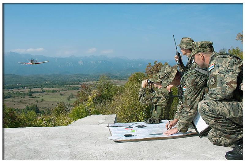 Forces Armées Croates /Croatian military /Oružane Snage Republike Hrvatske 2011100491120854