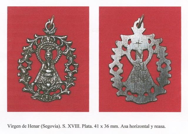 VIRGEN DE HENAR, s. XVIII ( FSV.) (R.M. PFV-Henar 5) Vhenarsxviii
