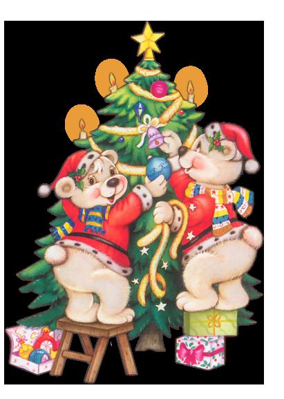 Animales de Navidad 5if9