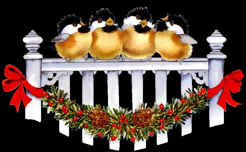 Animales de Navidad Sjt4