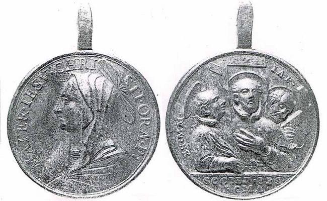 Recopilación medallas con el Rostro de Cristo ( Salvator Mvndi II) 50ij