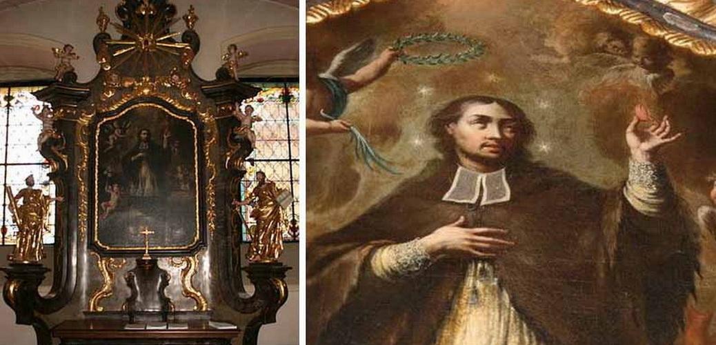 San Juan Nepomuceno / Reliquia Sagrada Lengua, S. XVIII Va4i