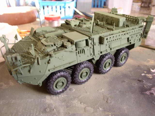 Stryker 1132 mine roller 1/35 Trumpeter Dio terminé - Page 2 64520572