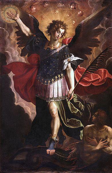Virgen Dolorosa / San Miguel  S.XVIII (R.M.S.XVIII-030) Hamerani 390pxcristobalvela
