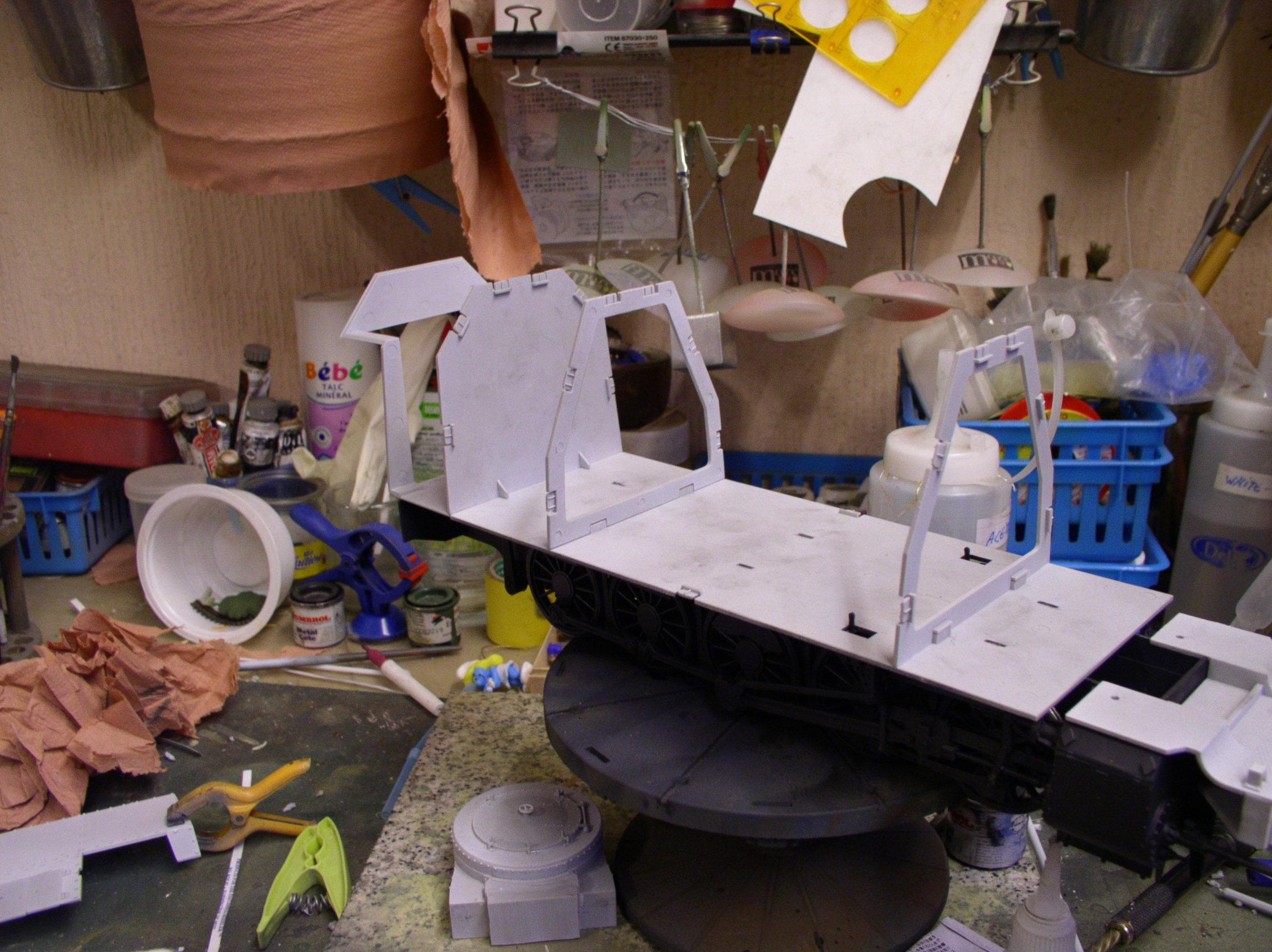 peinture - (Thunderbird) BR 57 Baureihe Panzerlok (Peinture en cours)  - Page 2 11975331