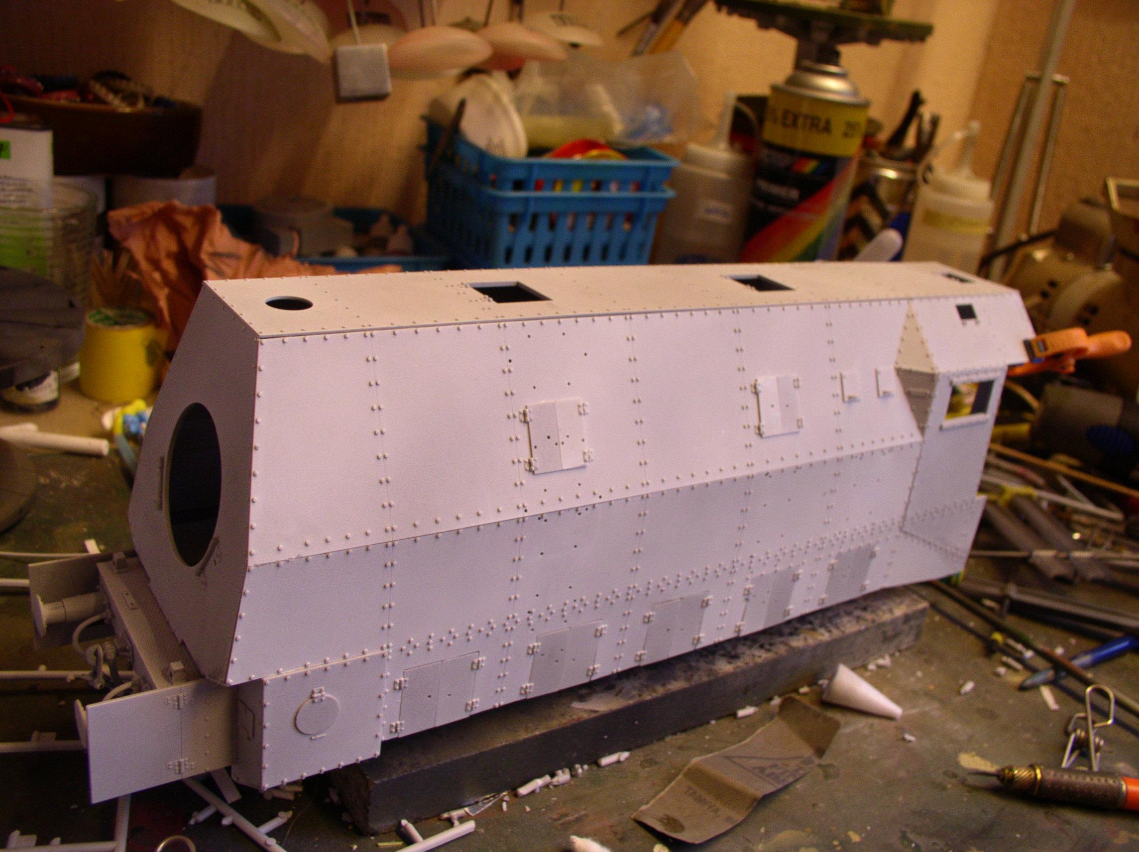 peinture - (Thunderbird) BR 57 Baureihe Panzerlok (Peinture en cours)  - Page 2 47878241