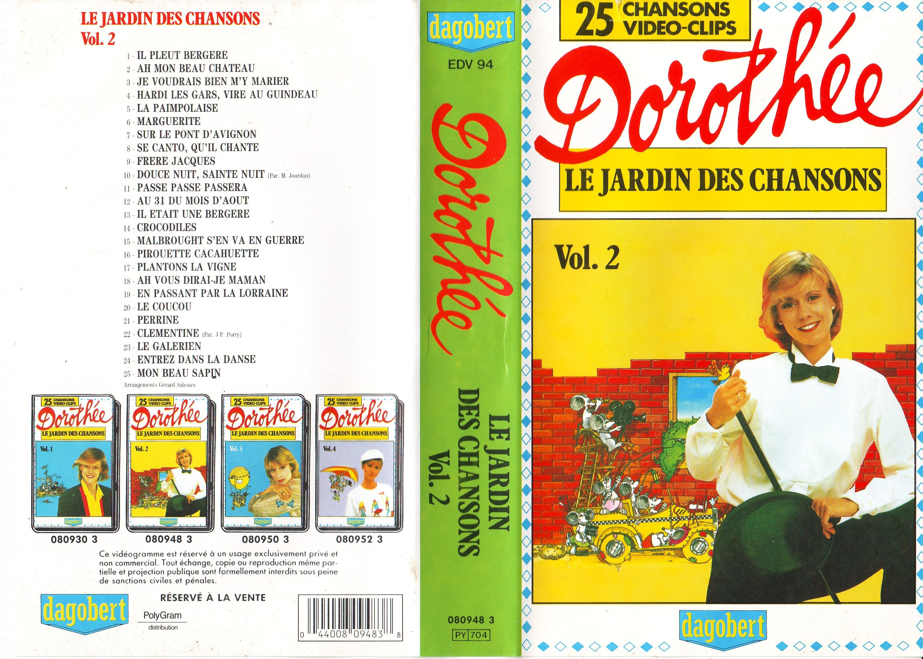 Dorothée et AB Productions (Récré A2 - Club Dorothée) Jardindeschansons882