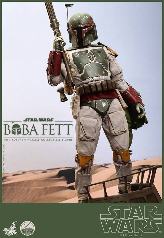 Hot Toys Star Wars - Boba Fett 1/4th Scale figure 4uTYso
