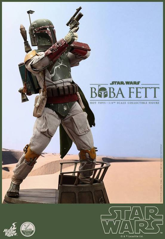 Hot Toys Star Wars - Boba Fett 1/4th Scale figure BUuBWL