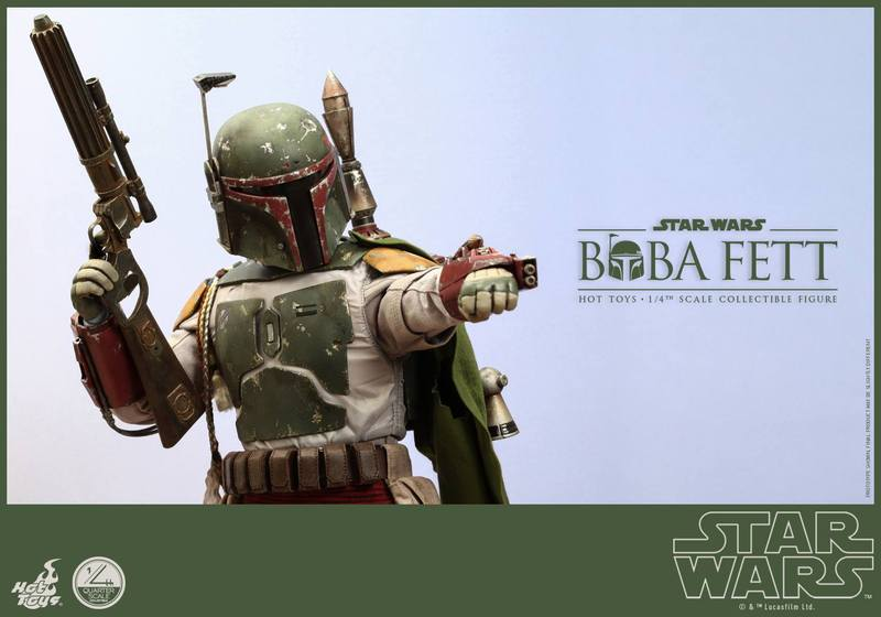 Hot Toys Star Wars - Boba Fett 1/4th Scale figure TCB5b9