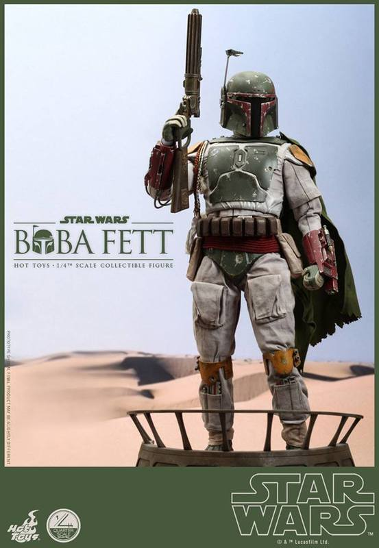 Hot Toys Star Wars - Boba Fett 1/4th Scale figure Lut93j
