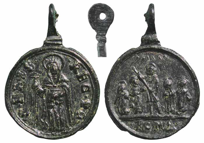 Santa Isabel de Portugal / Cinco santos – MR(026) (R.M. SXVII-C24) Mr235