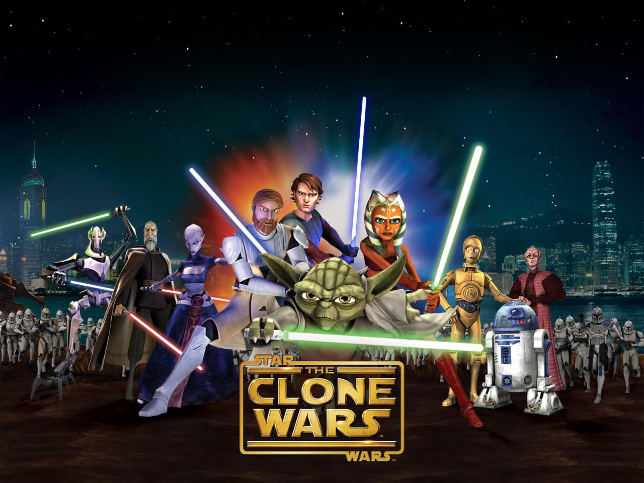 Clone Wars Seasons 01-05 DVDRips/ BDRips Clonewarsgroup