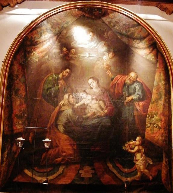 Santísima Trinidad / Sagrada Parentela - Familia (R.M. SXVII-P92) Cincoseores