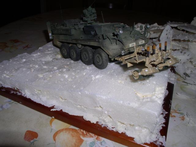 Stryker 1132 mine roller 1/35 Trumpeter Dio terminé - Page 3 P9190014