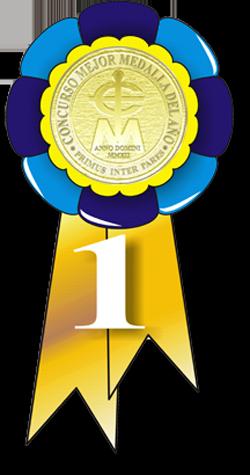 ELECCIÓN MEJOR PIEZA DEL AÑO 2012 Medalla2012