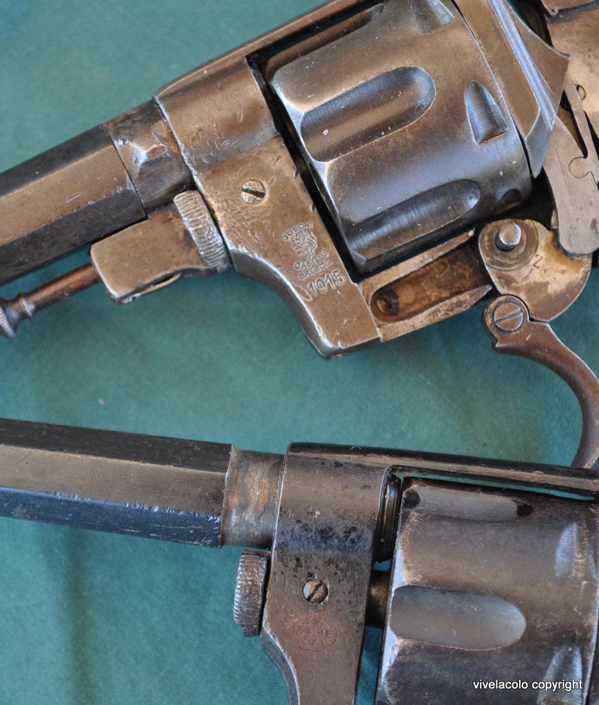 Pistola Rotazione, Sistema Bodeo, Modello 1889 Dsc0392zk