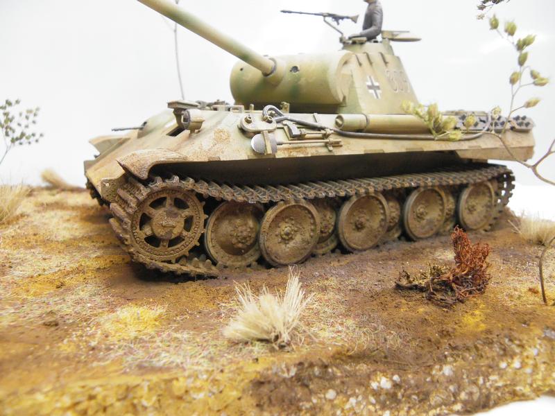 PANTHER sd.kfz171 - Tamiya - 1/35 Imgp2980w