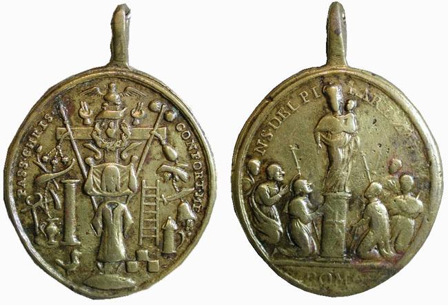 Recopilación medallas con el Rostro de Cristo ( Salvator Mvndi II) Uvcm