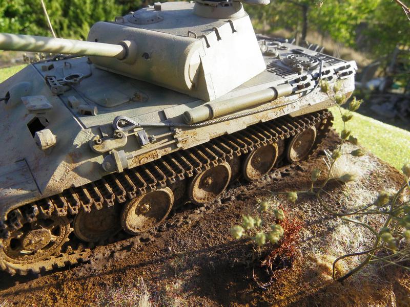 PANTHER sd.kfz171 - Tamiya - 1/35 Imgp3043o
