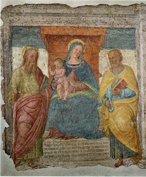 Medalla San Apolinar / Virgen Reina de los Apóstoles (R.M. SXVIII-O218) 8gke