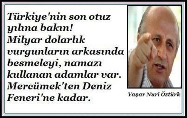 Türkiyenin Son Elli Yılına Bakın /  Yaşar Nuri Öztürk Jm7k