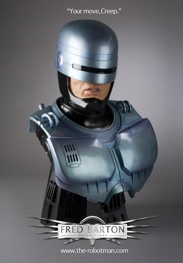ROBOCOP BUSTE ( THE ROBOTMAN ) Robocopbust