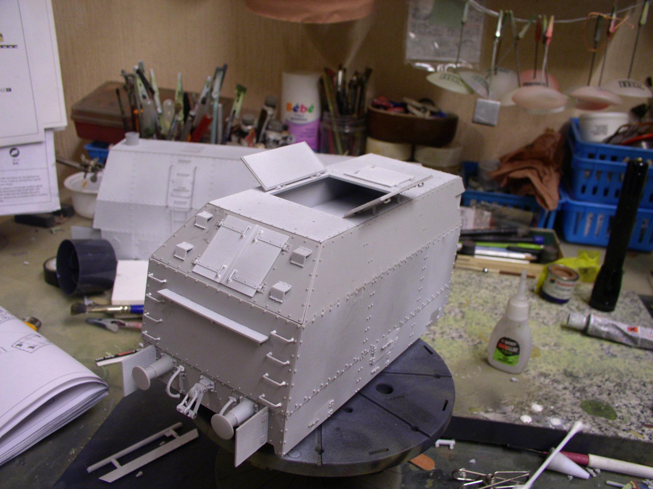peinture - (Thunderbird) BR 57 Baureihe Panzerlok (Peinture en cours)  - Page 2 130ji