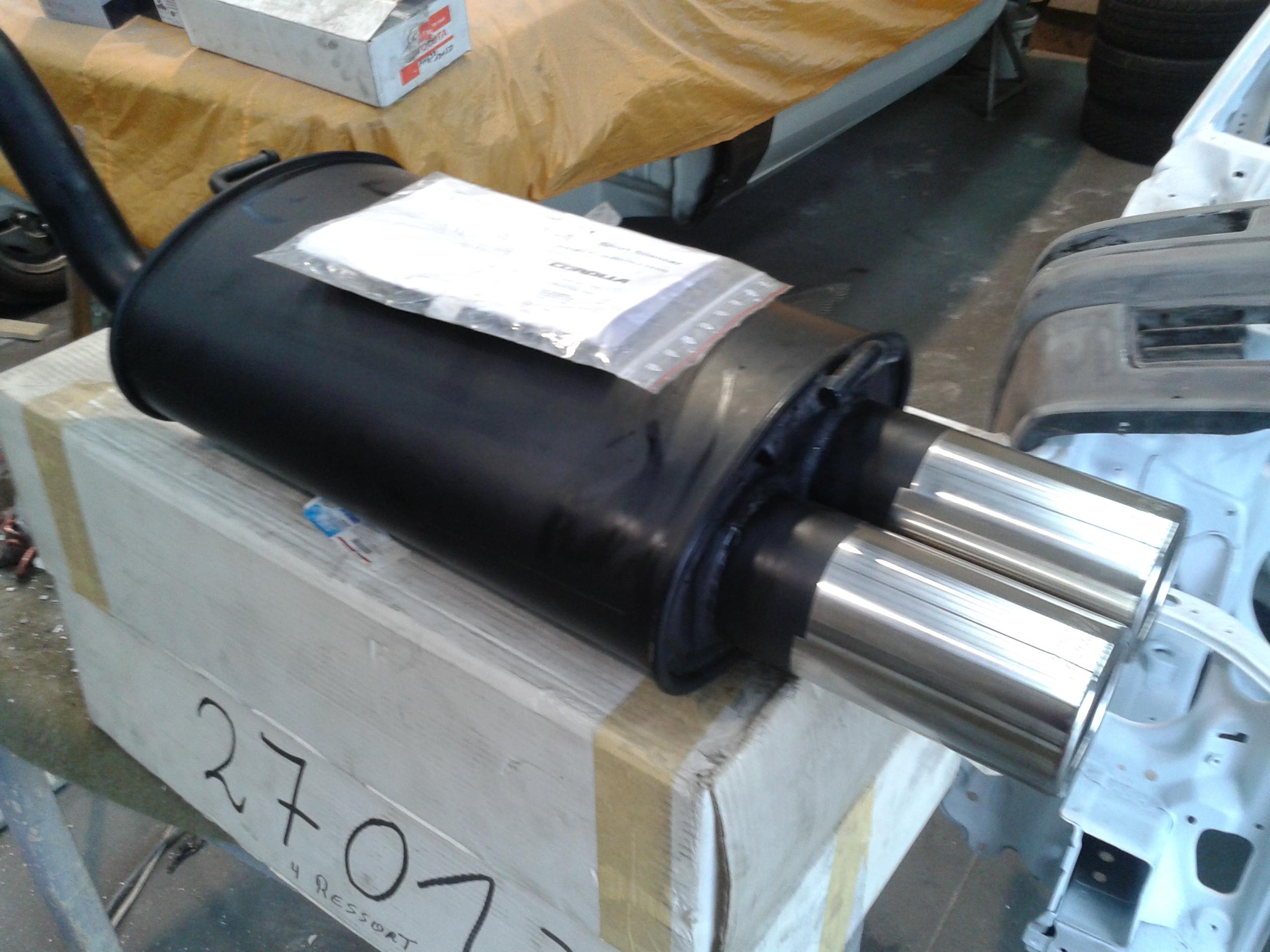 Echappement TTE corolla E12 20121215110450