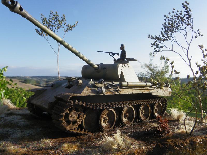 PANTHER sd.kfz171 - Tamiya - 1/35 Imgp3035o