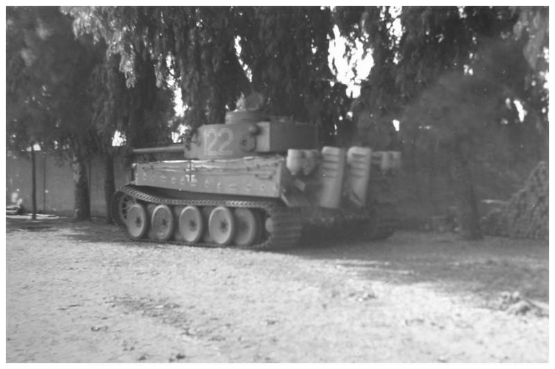 Tiger I du sPzAbt. 501 en Tunisie 1943 Tigerinr122spzabt501ent