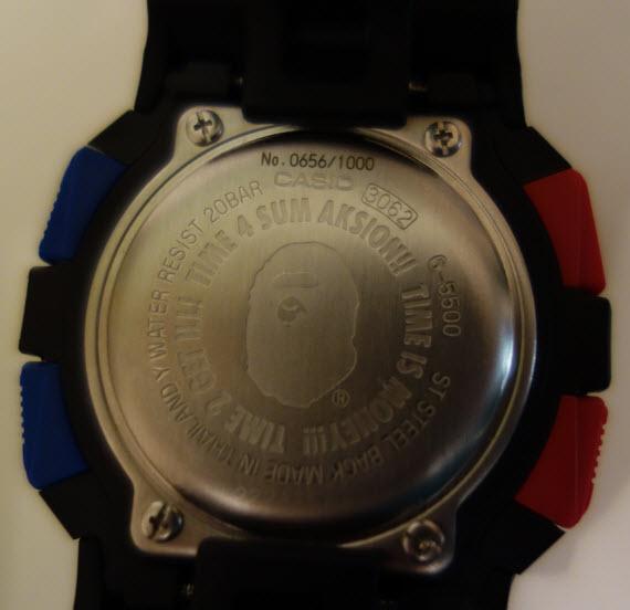 Presentacion Edicion Limitada G-5500 10AW BAPE 99063547