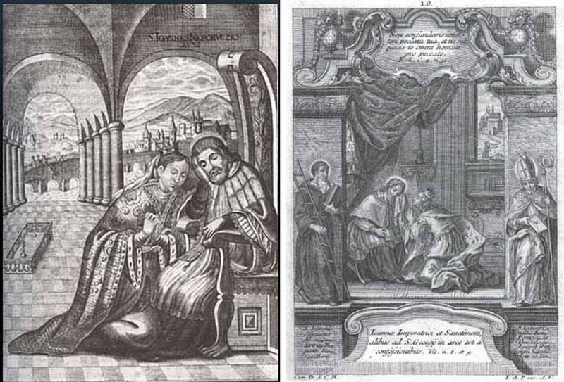 San Juan Nepomuceno / Reliquia Sagrada Lengua, S. XVIII T400
