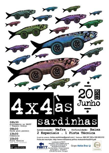 4x4 às Sardinhas no dia 20 de Junho de 2010 Cartazsardinhas014x4fin