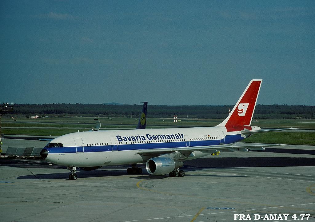 A300 in FRA 4fradamay