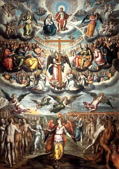 Virgen Dolorosa / San Miguel  S.XVIII (R.M.S.XVIII-030) Hamerani Sanmiguelarcangelyeljui
