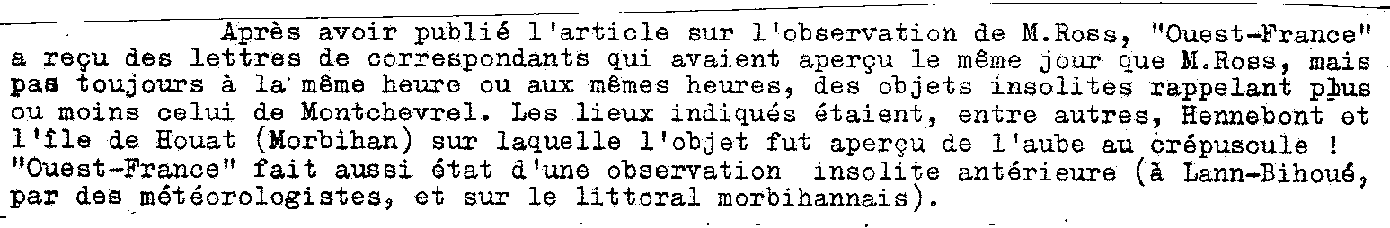 1967: lex /12 à  à la tombé de la nuit- Disques lumineux - Forêt de Pontcalleck (56)  - Page 2 19654