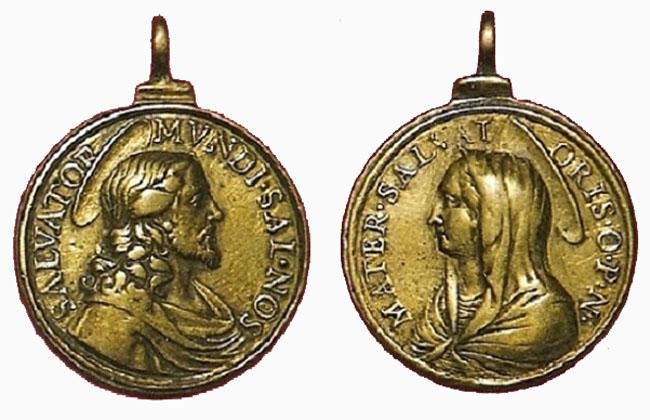 Recopilación medallas con el Rostro de Cristo ( Salvator Mvndi II) 9rlo