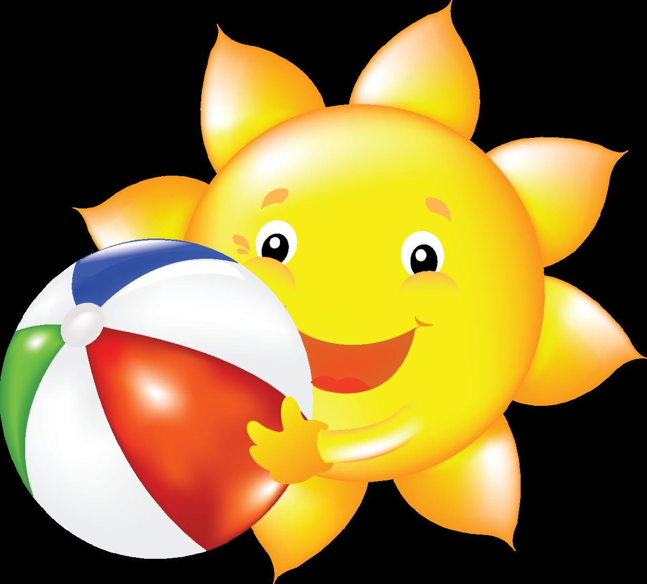 Imágenes infantiles- Sol con pelota Summer47