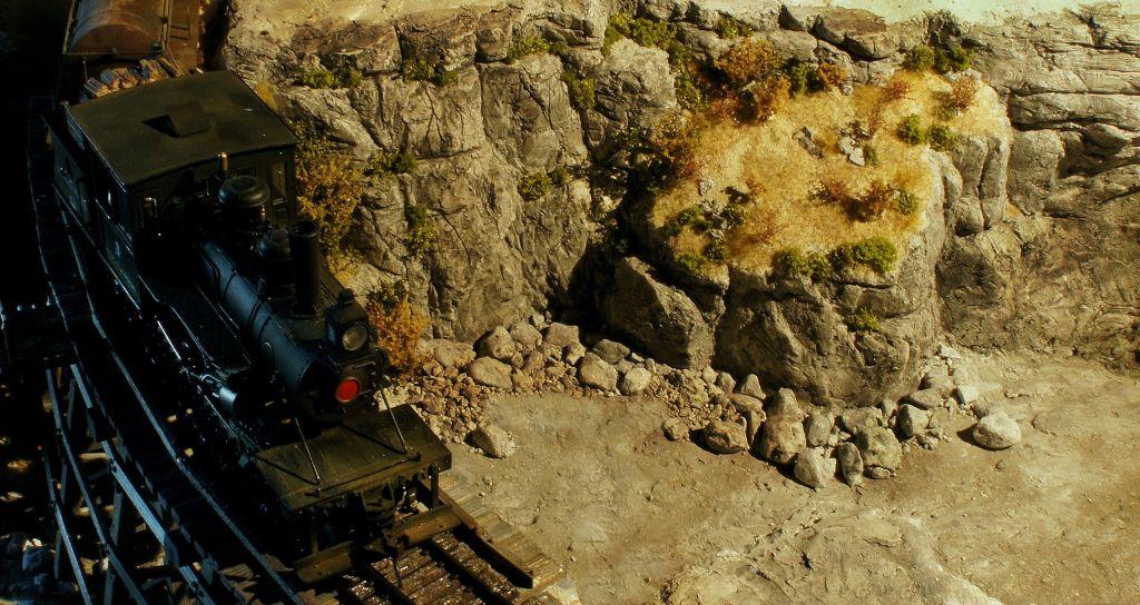 Felsen Ritzen bis zum abwinken Lokundfluss