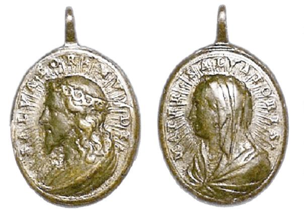 Recopilación medallas con el Rostro de Cristo ( Salvator Mvndi II) 2o07