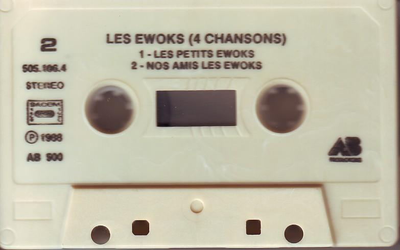 Dorothée et AB Productions (Récré A2 - Club Dorothée) Ewoks2t
