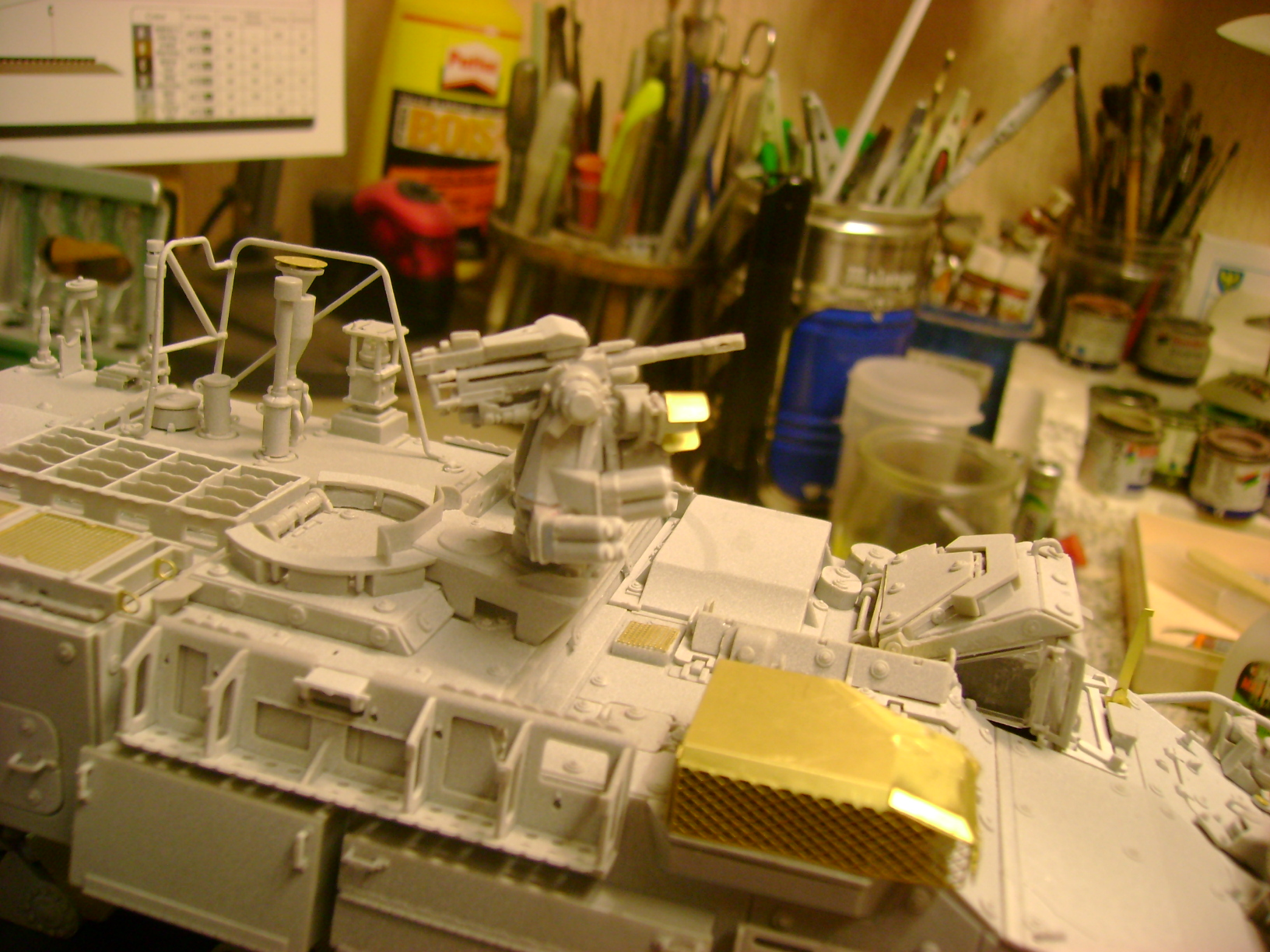 M1135 Stryker NBC RV 1/35 Trumpeter....Terminer Up du 29/10... - Page 2 69706580