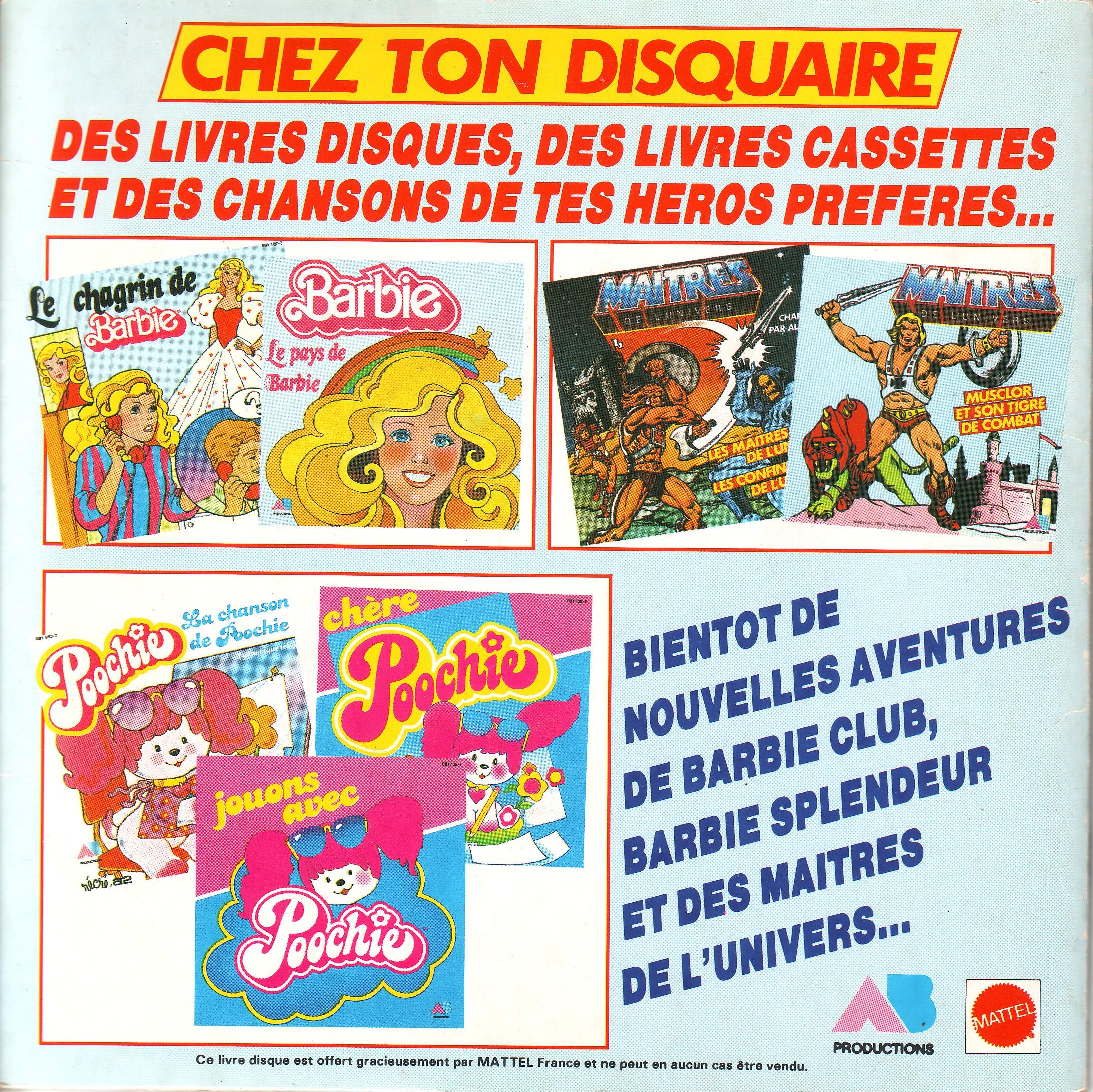 Dorothée et AB Productions Barbiey