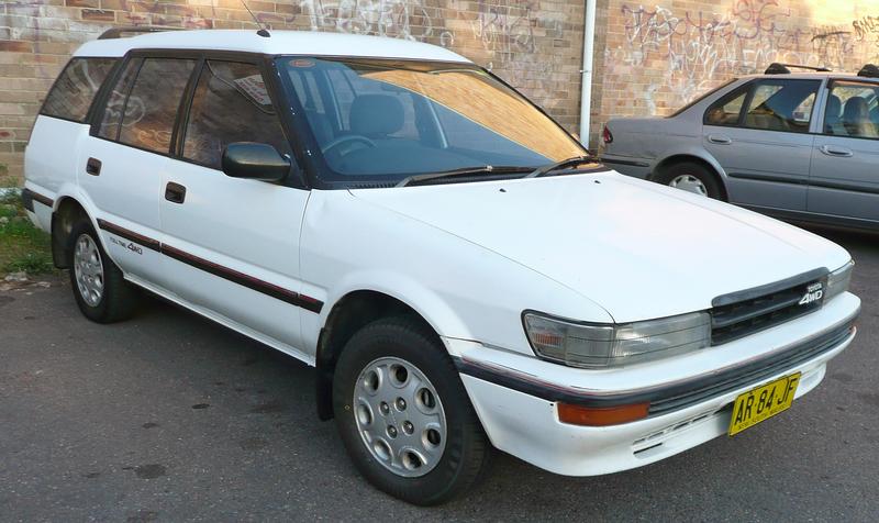 La série E90 19881992toyotacorollaae
