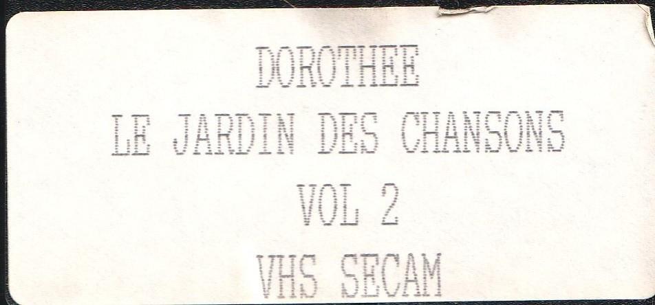 Dorothée et AB Productions (Récré A2 - Club Dorothée) Jardindeschansonsetique